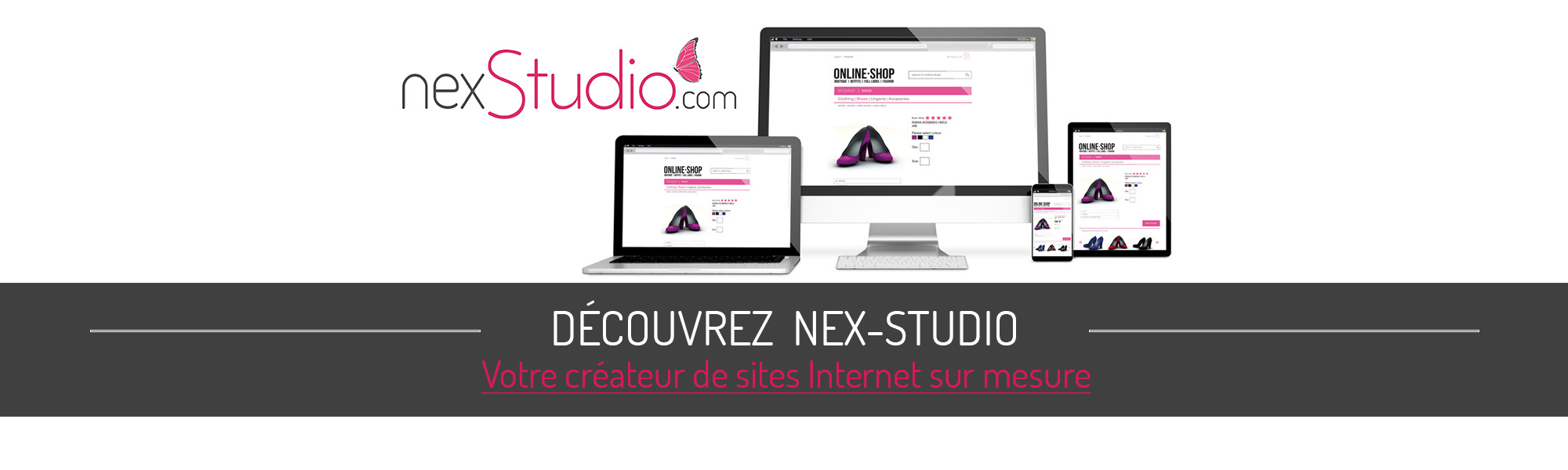 création sites internet - nex informatique